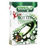 کاندوم خاردار 12 عددی شادو Shadow Dotted Condom