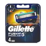 Gillette یدک تیغ ژیلت 5 لبه 4 عددی مدل Fusion ProGlide