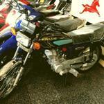 موتورسیکلت احسان 125 استارتی