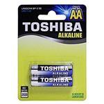 Toshiba باتری قلمی2 عددی آلکالاین
