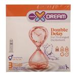 کاندوم ایکس دریم مدل تاخیری مضاعف XDREAM DOUBLE DELAY بسته 3 عددی