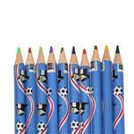 مداد 2 رنگ rainbow مدل 102 بسته 10 عددی