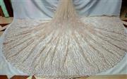 پارچه تورمرواریدترح گندمی