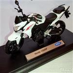 (سایز بزرگ) ماکت فلزی موتورسیکلت هوندا (Honda CB500F BY WELLY)(1/10)