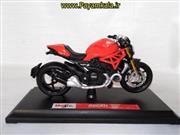 ماکت فلزی موتورسیکلت دوکاتی (DUCATI MONSTER 1200 2014 BY MAISTO)(1/18)
