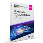 آنتی ویروس بیت دیفندر توتال سکیوریتی۲۰۱۸-سه کاربر-یکسال