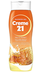 ژل شستشوی بدن شیر و عسل 250 میل کرم 21 - Creme21 Shower Gel