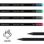 مداد مشکی کوییلو 12 عددی quilo black wood pencil