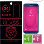 LION 2.5D Full Glass Screen Protector For Samsung Galaxy J4 2018