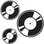 استیکر دیواری دکوگراف طرح گروه سی دی