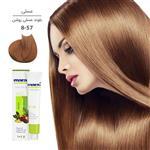 رنگ مو مارال سری عسلی مدل بلوند عسلی روشن شماره 8.57