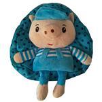 کیف عروسکی مهدکودک مدل خوک آبی