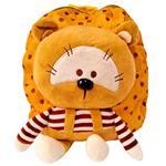 کیف عروسکی مهدکودک مدل خرس قهوهای