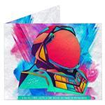کیف پول کاغذی مایتی والت مدل Astro