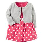 Carters 743 Girl Clothing Set