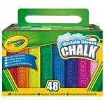 Crayola Sidewalk Chalk Pack Of 48