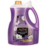 مایع دستشویی اکتیو انگور و گل حاوی مواد مرطوب کننده و پروتئین سویا 3750 گرم