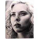 تابلو بوم وی وین آرت کد 170 طرح Scarlett Johansson