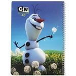 دفتر مشق ایده مدل  Frozen 21189