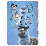 دفتر نقاشی ایده طرح Frozen Olaf