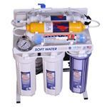 دستگاه تصفیه آب 8 مرحله ای اکسیژن ساز قلیایی اسمز معکوس سافت واتر مدل RO8_OX