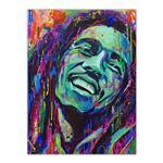 تابلو شاسی گالری آگاپه  طرح Bob Marley مدل T15