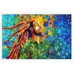 تابلو شاسی گالری آگاپه  طرح Bob Marley مدل T19