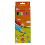 مداد رنگی 6 رنگ کوییلو طرح جامبو کد 634011