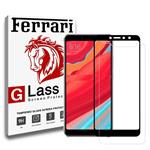 Ferrari 6D Dual Full Glue Glass Screen Protector For Xiaomi Redmi S2