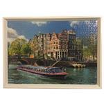 تابلو پازل 1000 تکه راونزبرگر مدل Canal Tour in Amsterdam