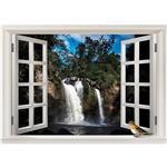 استیکر صالسو آرت مدل پنجره مجازی طرح  a.z abshare khroshan