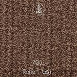 موکت ظریف مصور طرح رها قهوه ای کد 7031