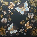 تابلو بوم سارا باقرپور مدل پروانه و مروارید