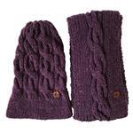 ست شال و کلاه خانه مد میرا مدل Lilac_Set