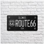 تابلو مینیمال رومادون طرح Route 66 کد 1311