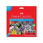 مداد رنگی کلاسیک جعبه مقوایی طرح گل 60 رنگ فابر کاستل