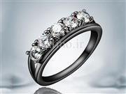 انگشتر زنانه الگانت نیو زیرکن شفاف-Garro.R.23