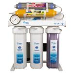 تصفیه آب 8 مرحله ای سوپرمینرال - قلیایی ساز - اکسیژن ساز بدون اشعه اس اس وی مدل SuperTec X800