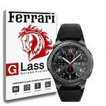 محافظ صفحه نمایش شیشه ای فراری مدل Crystal Clear مناسب برای ساعت هوشمند سامسونگ مدل Gear S3
