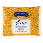 ذرت طلایی منجمد سرد و تازه مقدار 400 گرم