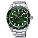 Seiko Series 5 Mens Mial Green Dial Watch SRP ...