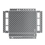 MAHOOT Silver Carbon-fiber Texture Sticker for Xbox One X