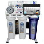دستگاه تصفیه آب 6 مرحله ای هوشمند تک - قلیایی ساز - اسمزمعکوس مدل RO-BRAIN-T5500