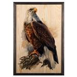 تابلو چوب آتینو مدل عقاب
