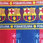 پارچه ملحفه طرح بارسلونا