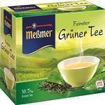 چای سبز خالص آلمانی مسمر مدل Gruner Tee بسته 50 عددی