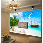 کاغذ دیواری صالسو آرت طرح A - beach 266