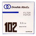 کاغذ صافی و فیلتر آزمایشگاهی دابل رینگز مدل 102