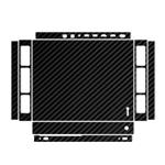 MAHOOT Black Carbon-fiber Texture Sticker for Xbox One X