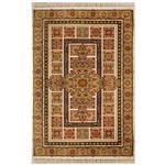 فرش عرش طرح مسرور رنگ فندقی شانه 500 استاندارد